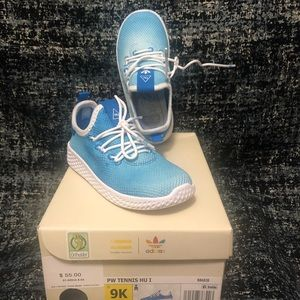 Brand new!!!!   Adidas Hu shoes for little girls